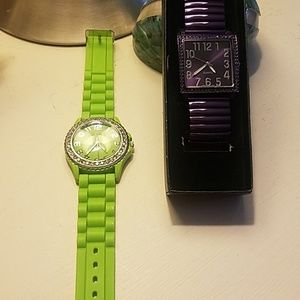 YOU GET BOTH! Two watches